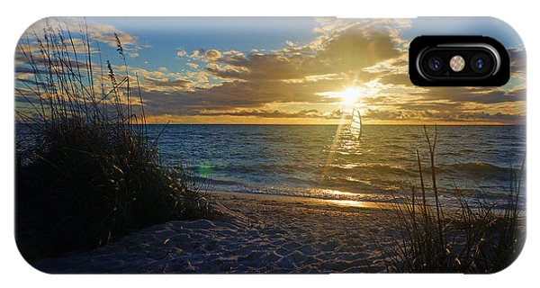 Sunset Windsurfer IPhone Case