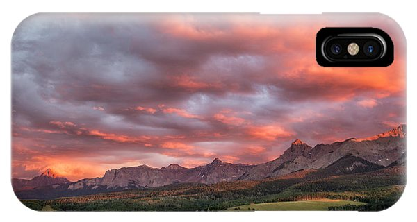 Sunset With Rain Clouds IPhone Case