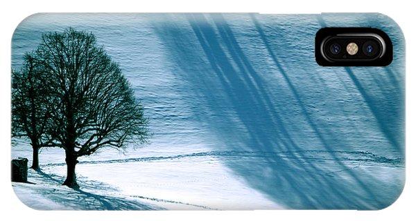 Sunshine And Shadows - Winterwonderland IPhone Case
