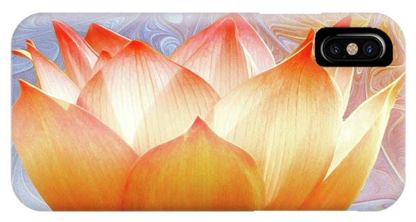 Sunshine Lotus IPhone Case