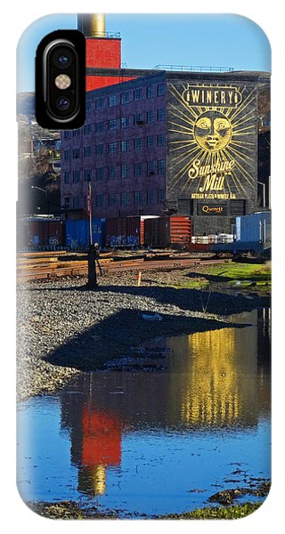 Sunshine Mill Reflection IPhone Case