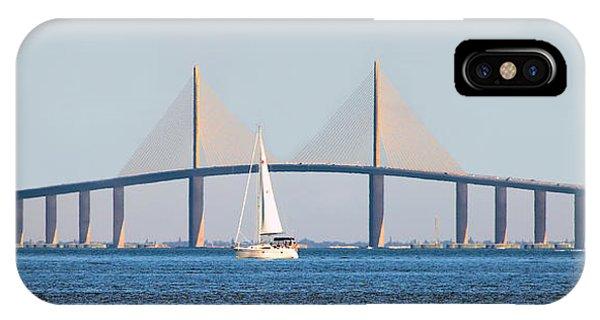 Sunshine Skyway Bridge #2 IPhone Case