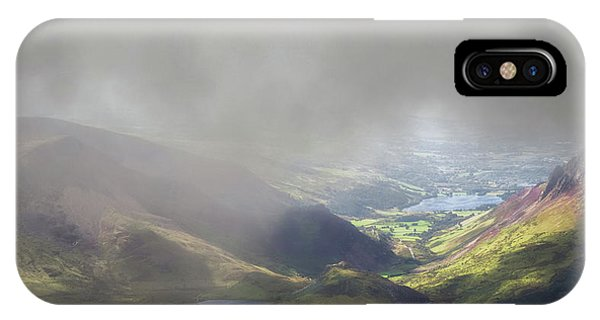 Sunshine Through The Low Cloud IPhone Case