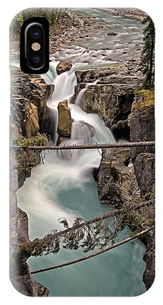 Sunwapta Falls IPhone Case