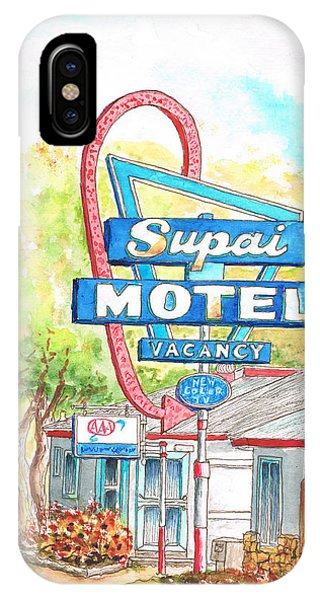 Supai Motel In Route 66, Seliman, Arizona IPhone Case