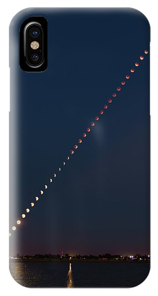 Super Blood Lunar Eclipse IPhone Case