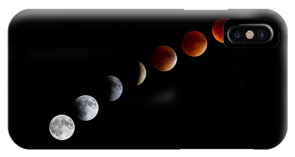 Super Blood Moon Eclipse IPhone Case