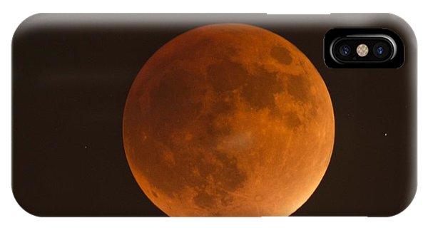 Super Blood Moon IPhone Case