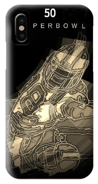 Super Bowl Poster IPhone Case