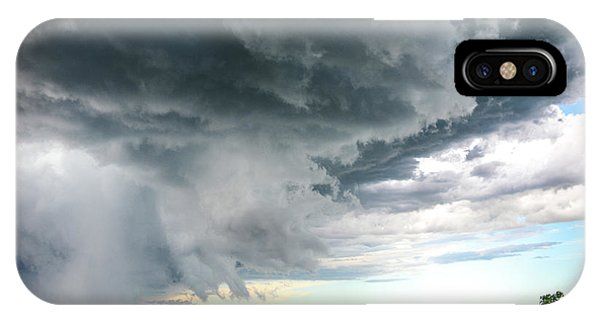 Super Cell Over Otter Tail County IPhone Case