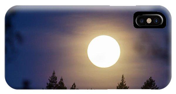 Super Full Moon IPhone Case