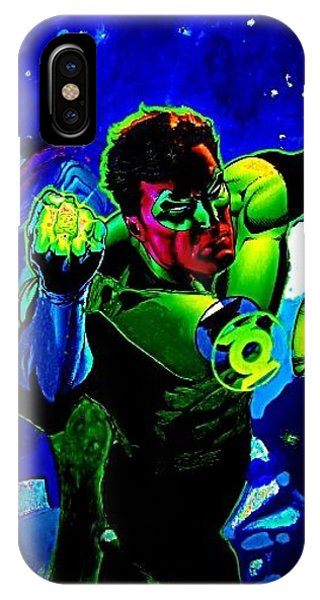 Super Hero Phone Case by HollyWood Creation By linda zanini