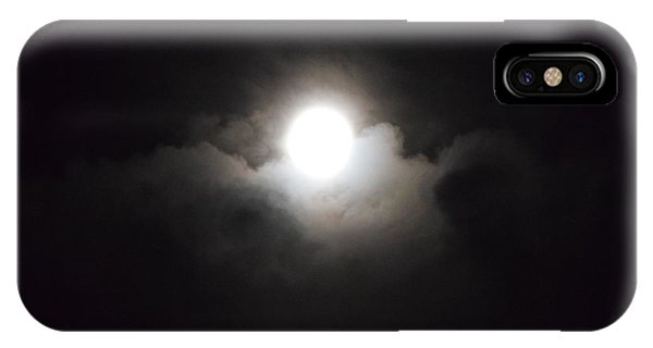 Super Moon 1 IPhone Case