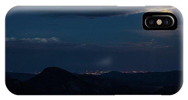 Super Moon Eclipse IPhone Case