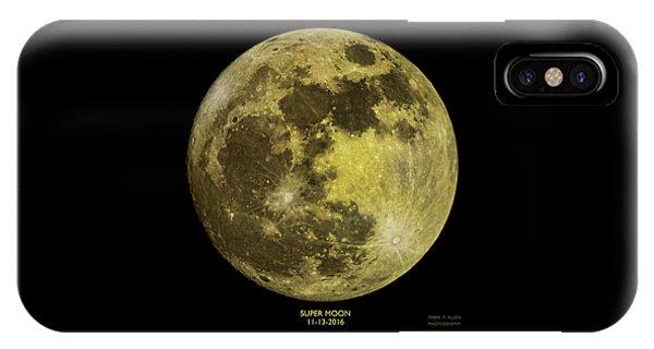 Super Moon IPhone Case