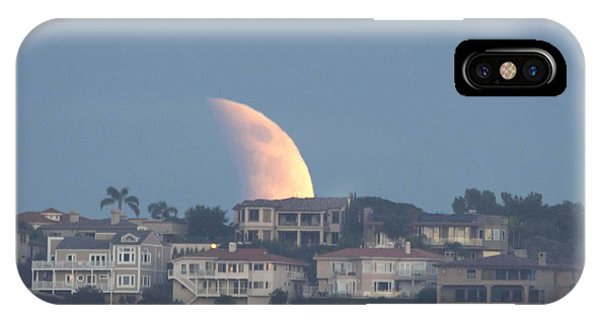 Super Moon Rise IPhone Case