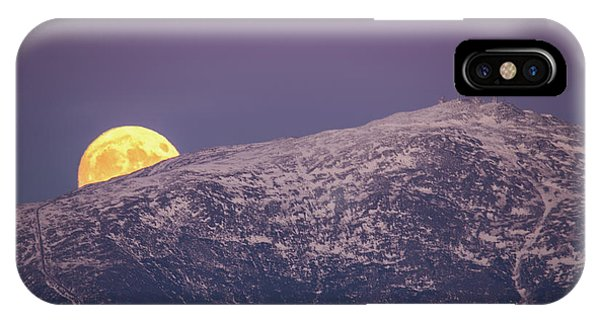 Super Moon Rising IPhone Case