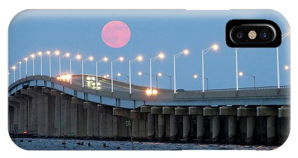 IPhone Case featuring the photograph Super Moon  by Robert Henne