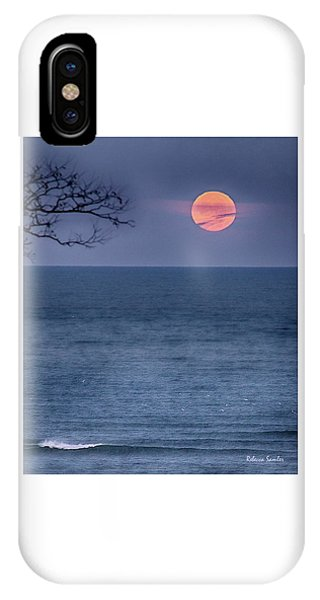 Super Moon Waning IPhone Case