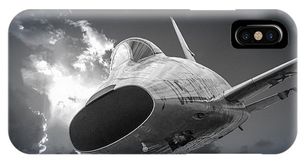 Super Sabre Rolling In On The Target IPhone Case
