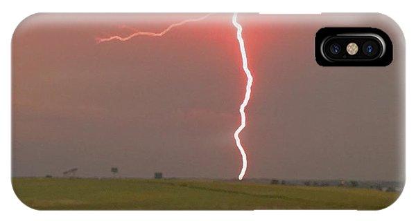 Superbolt On The Prairie IPhone Case