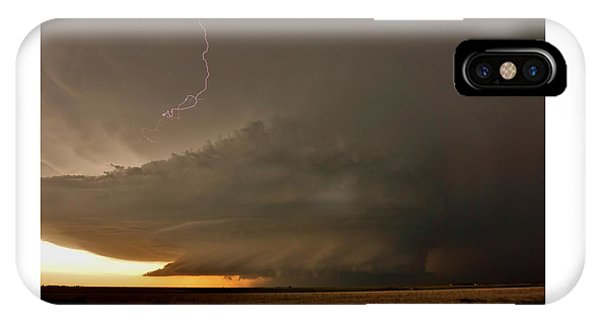 Supercell In Kansas IPhone Case