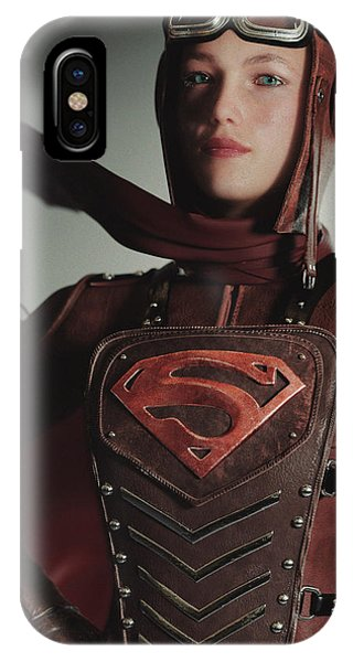 Supergirl Air Force 1944 IPhone Case