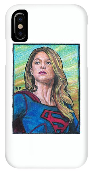 Supergirl As Portrayed By Actress Melissa Benoit IPhone Case