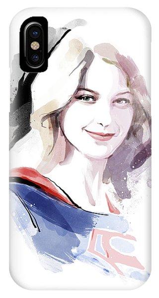 Supergirl IPhone Case