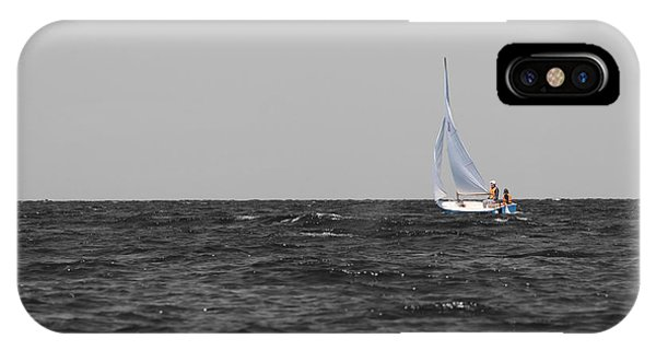 IPhone Case featuring the photograph Superior Sailing by Dylan Punke