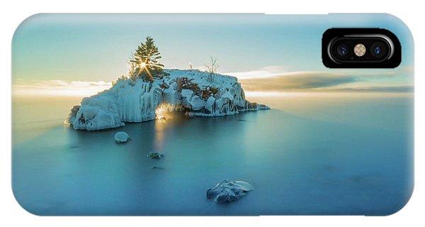 Superior Sunrise // North Shore, Lake Superior  IPhone Case