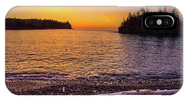 Split Rock iPhone Case - Superior Sunrise by Paul Freidlund
