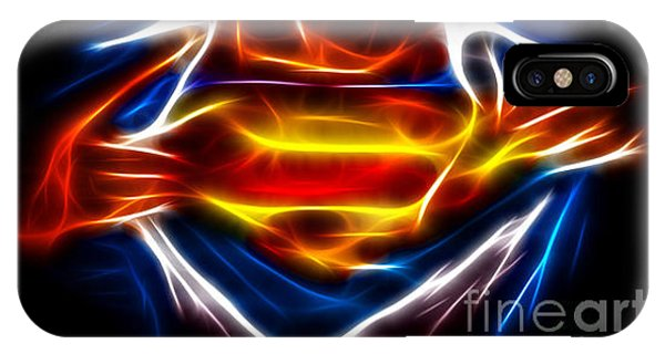 For iPhone Case - Superman by Pamela Johnson