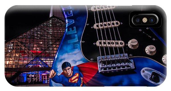 Superman Rocks IPhone Case
