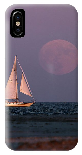 Supermoon Two IPhone Case