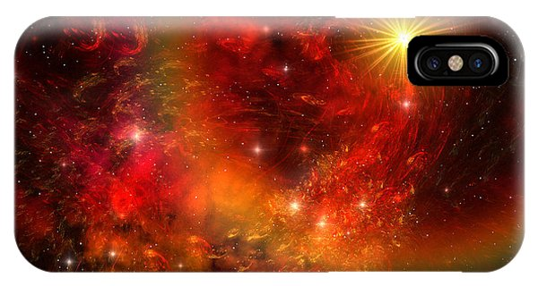 Endless iPhone Case - Supernova by Corey Ford