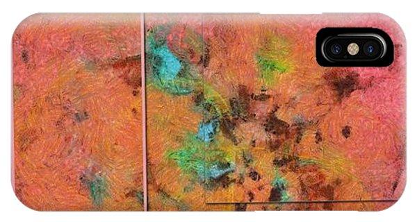 Atomic Tangerine iPhone Case - Superprecise Head Trip  Id 16100-050431-38511 by S Lurk