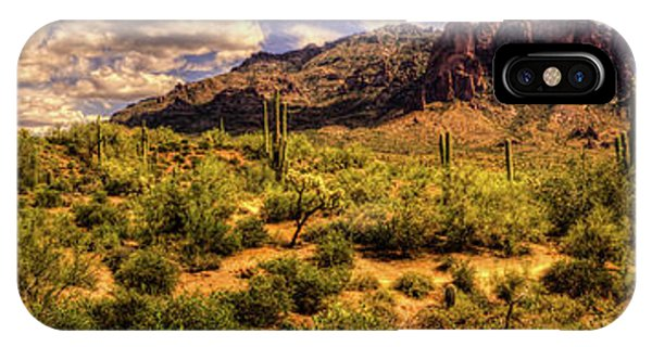 Superstition Mountain And Wilderness IPhone Case