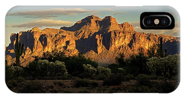 Superstitions At Sunset  IPhone Case