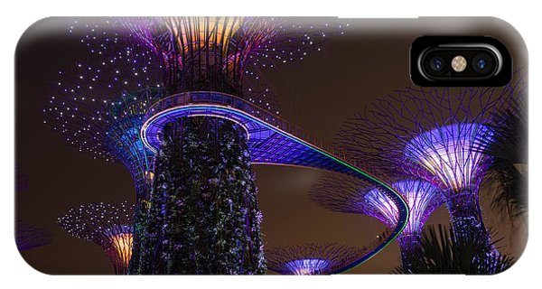 Supertrees IPhone Case