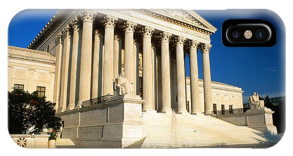 Fairness iPhone Case - Supreme Court, Washington, D.c by Joseph Sohm