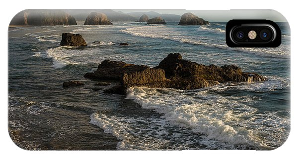 Surf At Crescent Beach IPhone Case