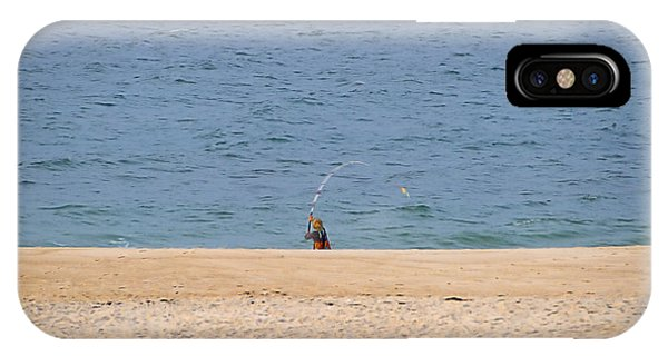 Surf Caster IPhone Case