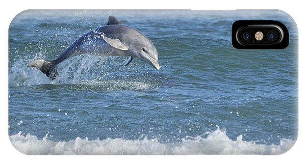IPhone Case featuring the photograph Surf Dolphin by Bradford Martin