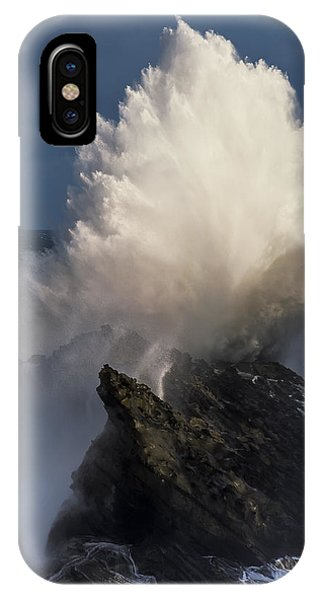 Surf Eruption IPhone Case