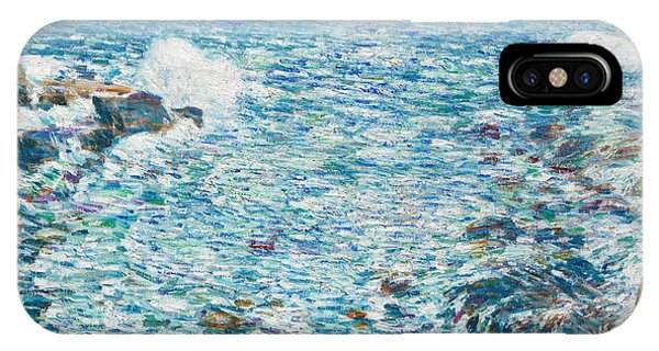 Surf, Isles Of Shoals, 1913 IPhone Case