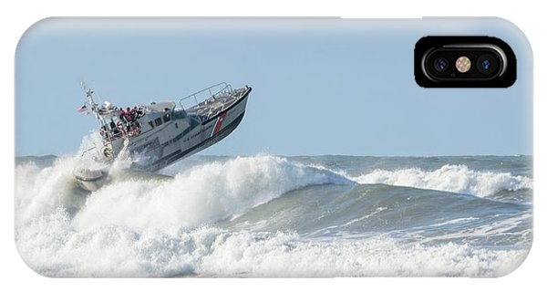Surf Rescue Boat V2 IPhone Case