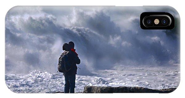 Surf Watcher IPhone Case