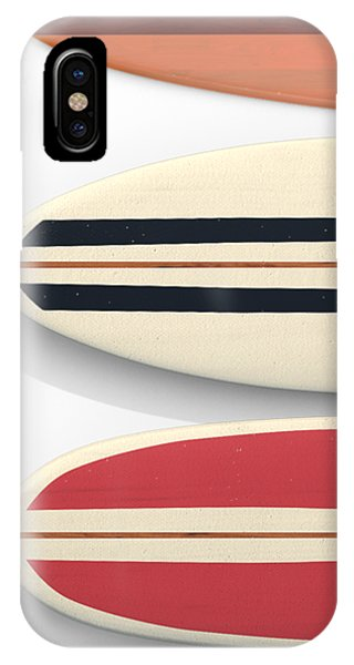 IPhone Case featuring the digital art Surfboards Cell Phone Case by Edward Fielding