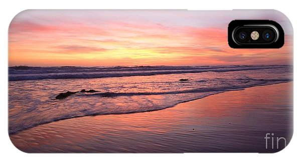 Surfer Afterglow IPhone Case